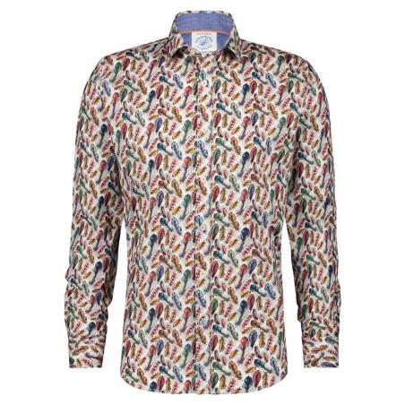 chemise plumes