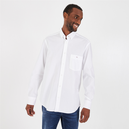 chemise en coton avec...