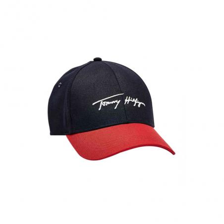 casquette à logo signature th